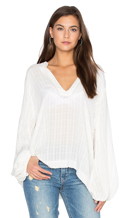 LAVI by SAM&LAVI Olivia Top in Ivory
