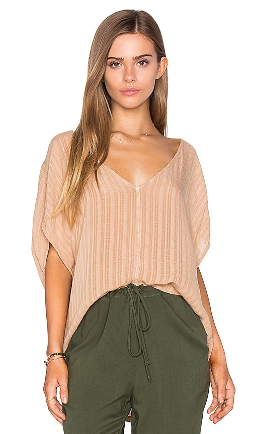 LAVI by SAM&LAVI Lynn Top in Beige