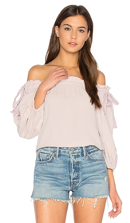 SAM&LAVI Laralie Top in Pink