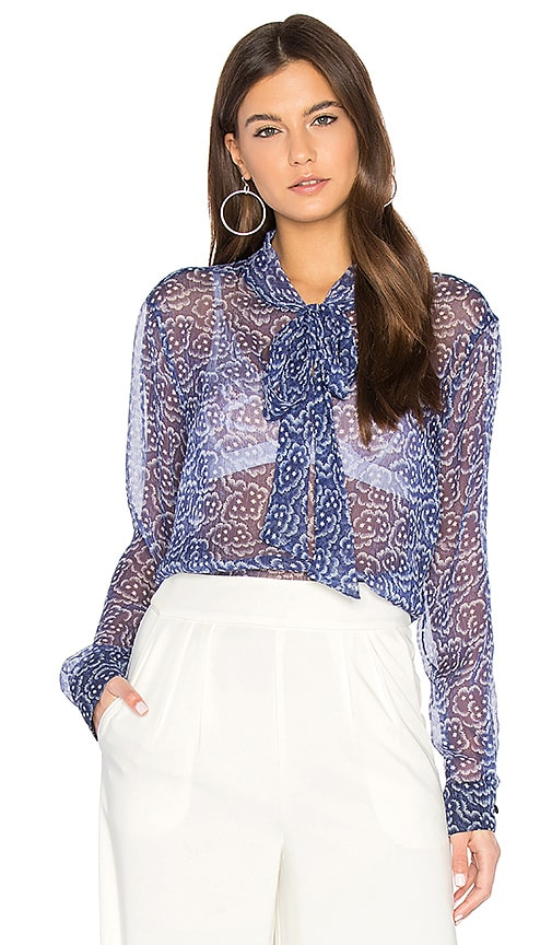 SAM&LAVI Orion Top in Blue