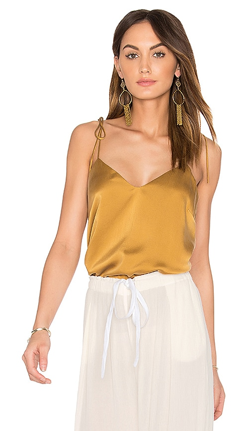 SAM&LAVI Cami Top in Tan