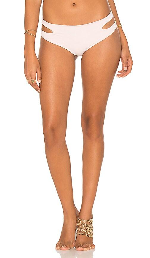 SAN LORENZO Cut Out Wrap Bikini Bottom in Pink