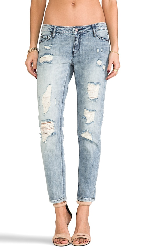 How It Starts Distressed Skinny