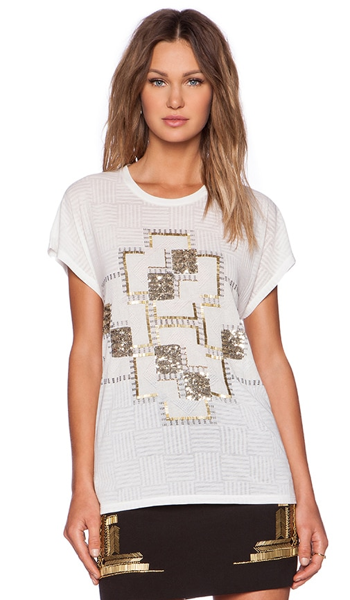 Sass & Bide Labyrinth Lady Top in Ivory