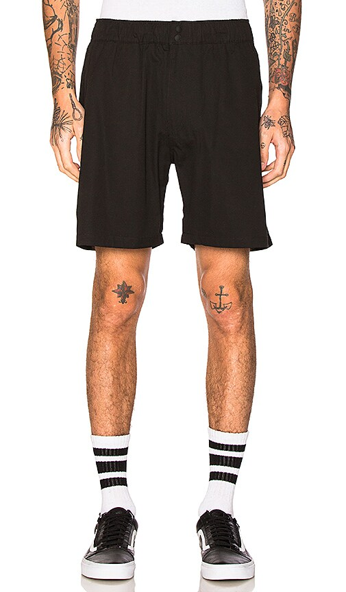 SATURDAYS NYC Trent Shorts in Black