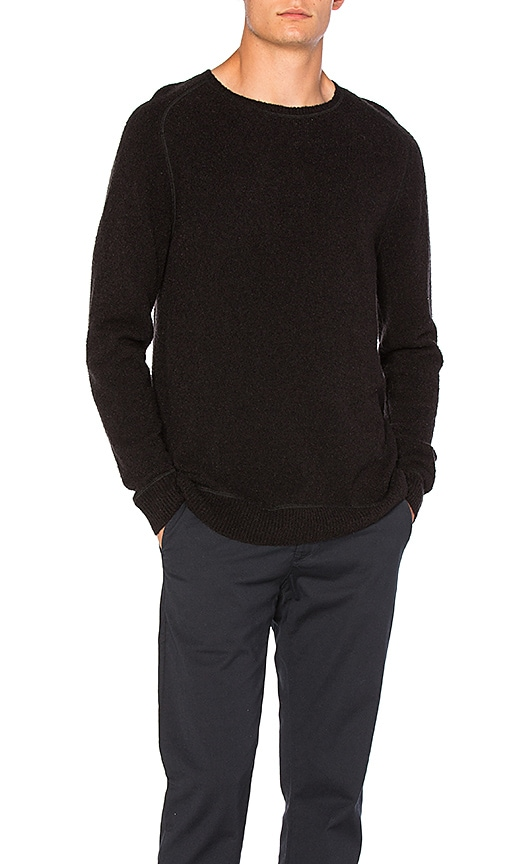 SATURDAYS NYC Kasu Sweater in Black