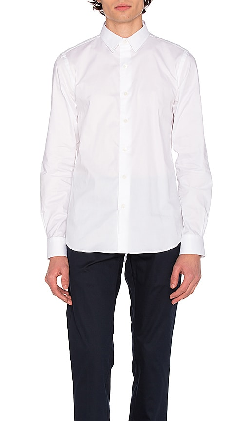 SATURDAYS NYC Reed Shirt in White