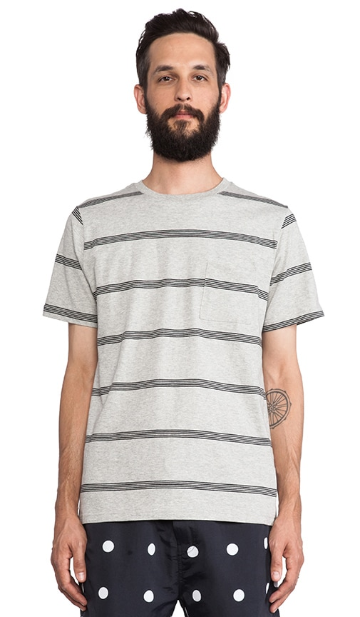 Randall Stacked Stripe Tee