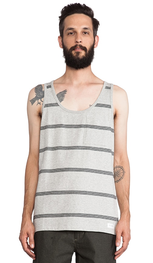 Rosen Stacked Stripe Tank