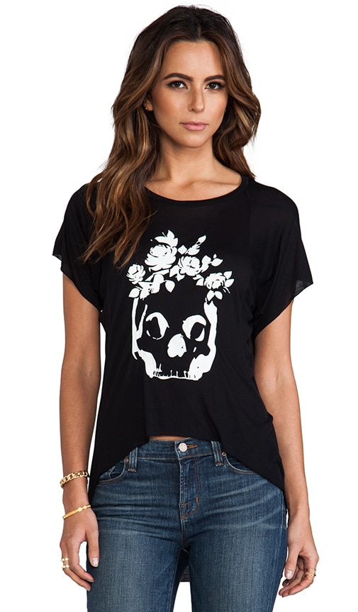 Roses Skull London Short Sleeve Tee