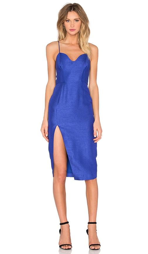 SAU Gwyneth Pencil Dress in Blue