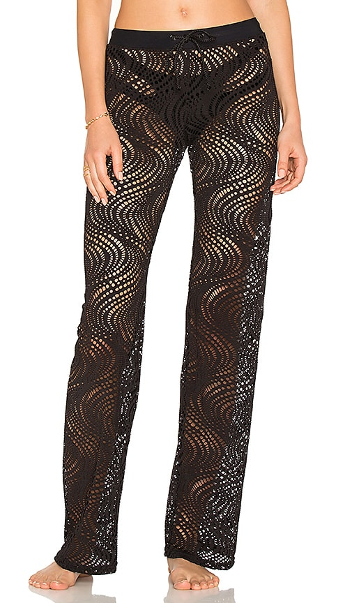 Sauvage Lace Pants in Black
