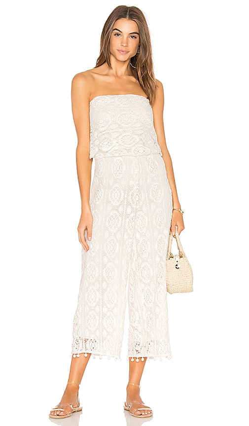 SAYLOR Kenzie Jumpsuit in White