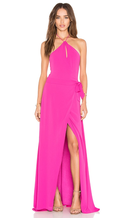 SAYLOR x REVOLVE Portia Maxi Dress in Fuchsia