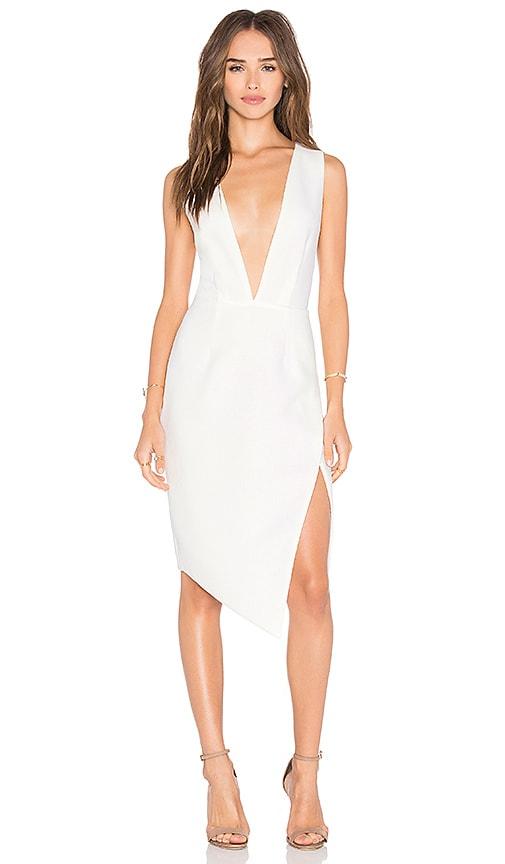 SAYLOR Kim Dress in Cream