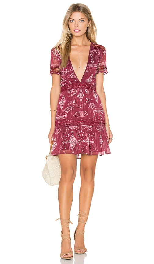 SAYLOR Alexa Dress in Multi