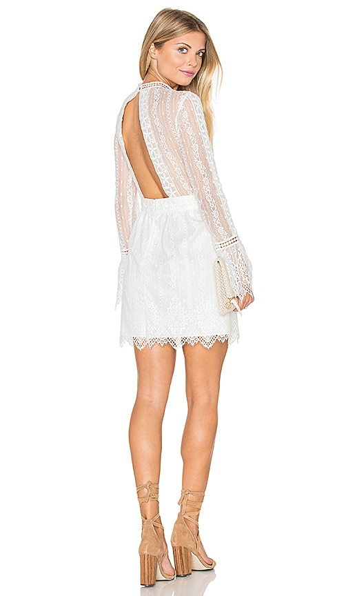 SAYLOR Mathilda Dress in White