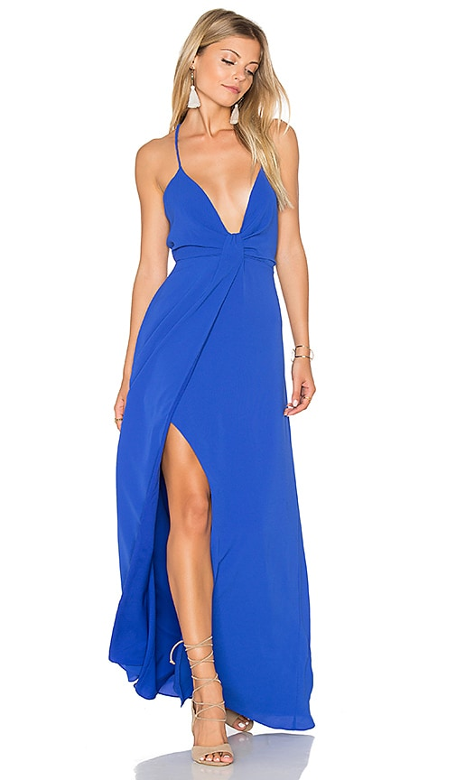 SAYLOR Misty x REVOLVE Dress in Royal