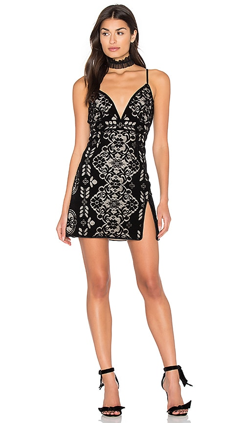 SAYLOR Logan Dress in Black