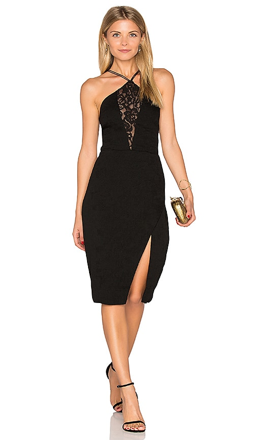 SAYLOR Audree Dress in Black