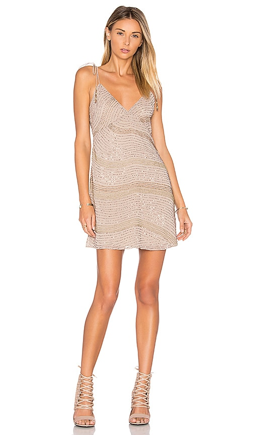 SAYLOR Freya Dress in Beige