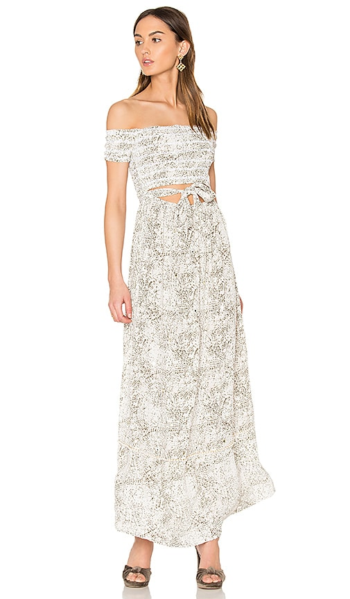 SAYLOR Marissa Dress in Ivory