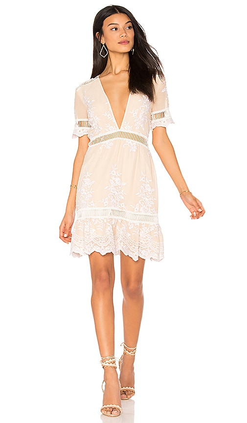SAYLOR Alexa Dress in Cream