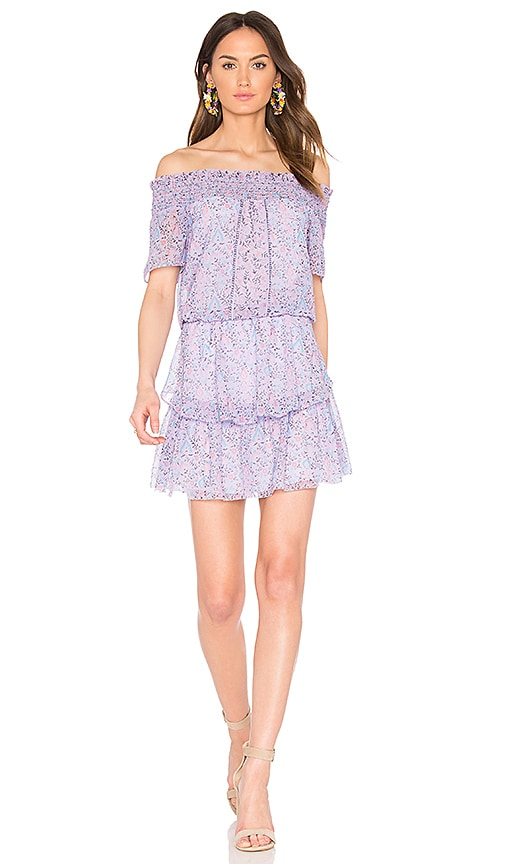 SAYLOR Bessie Dress in Purple