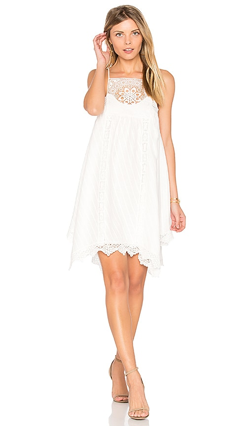 SAYLOR Ellis Dress in White