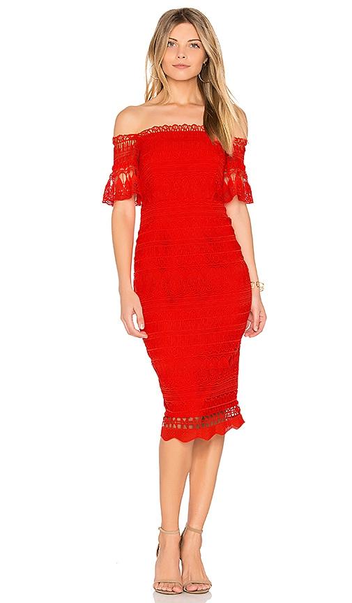SAYLOR Mariah Dress in Red