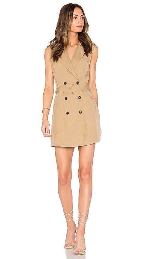 SAYLOR Briella Mini Dress in Tan