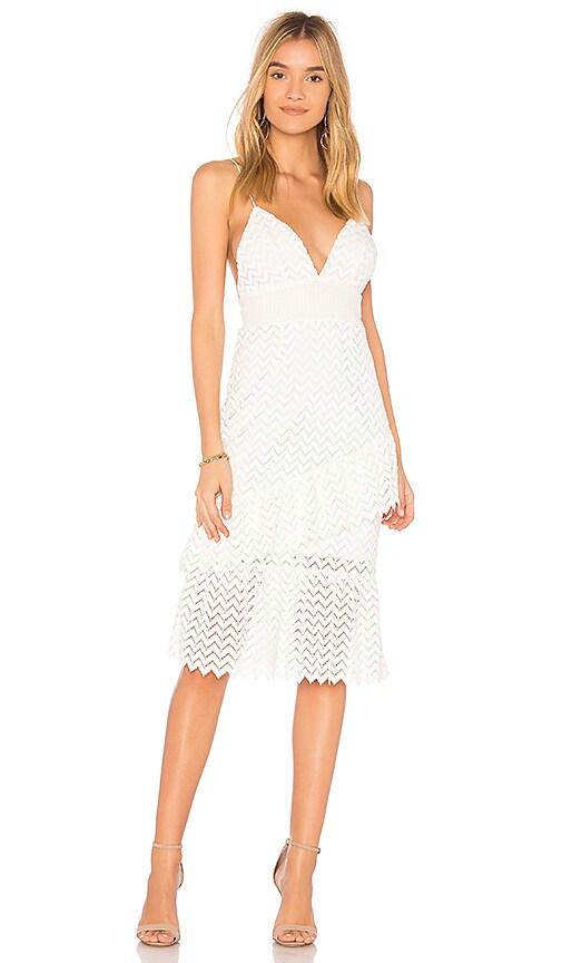 SAYLOR Enida Dress in White