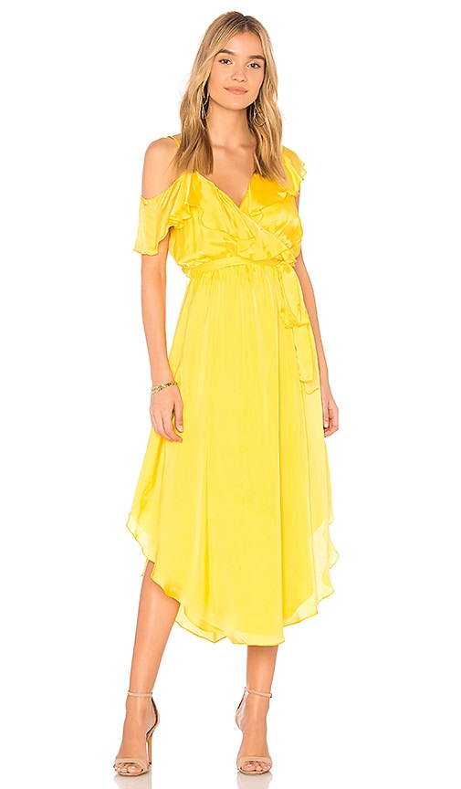 SAYLOR Michelle Dress in Yellow