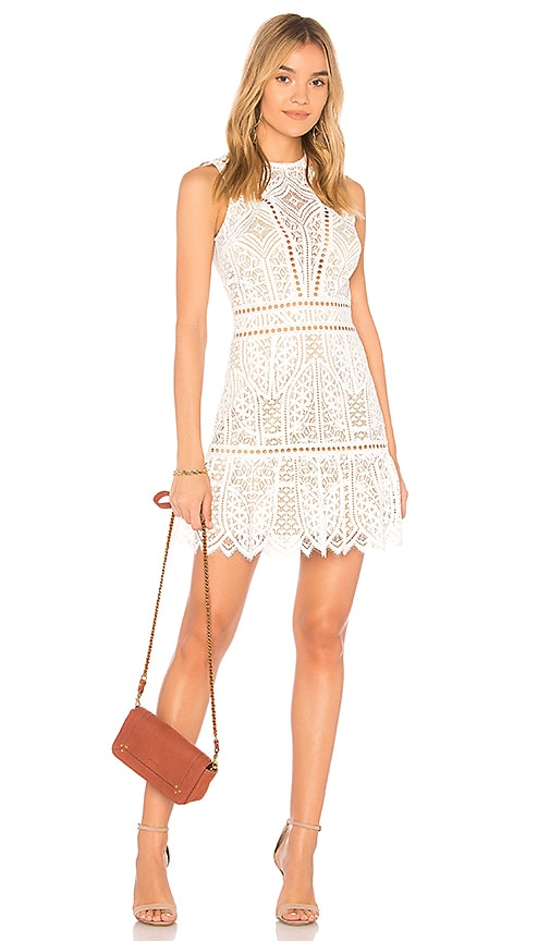 SAYLOR Rosemary Dress in White