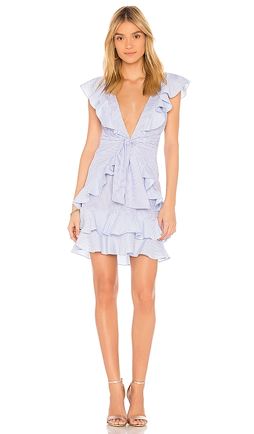 SAYLOR Aria Dress in Blue