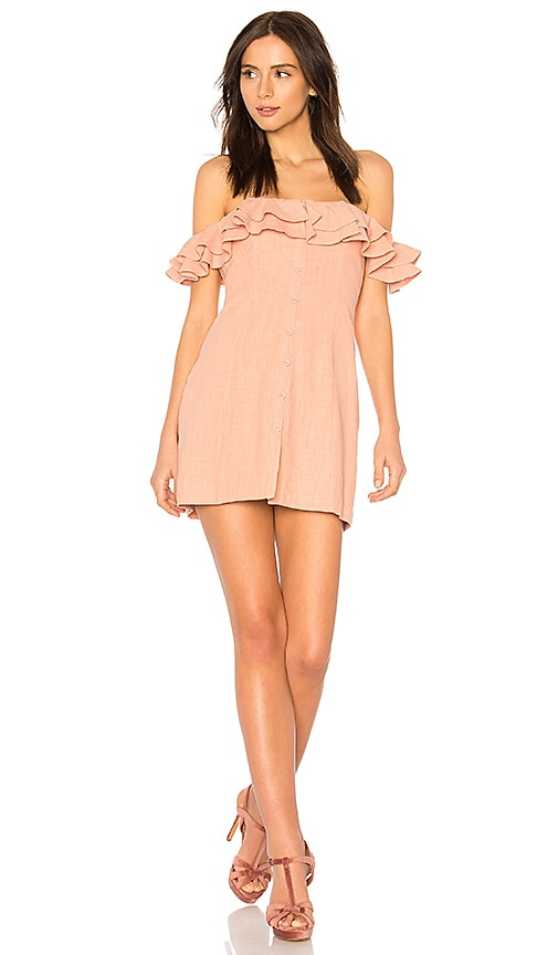 Janie Dress in Rose. - size L (also in M,S,XS) Saylor