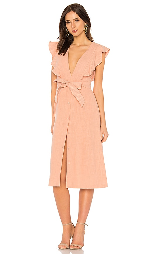 SAYLOR Sue Dress in Rose