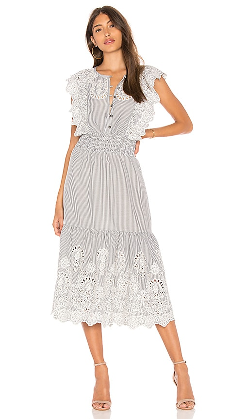 SAYLOR Maliyah Dress in Black & White