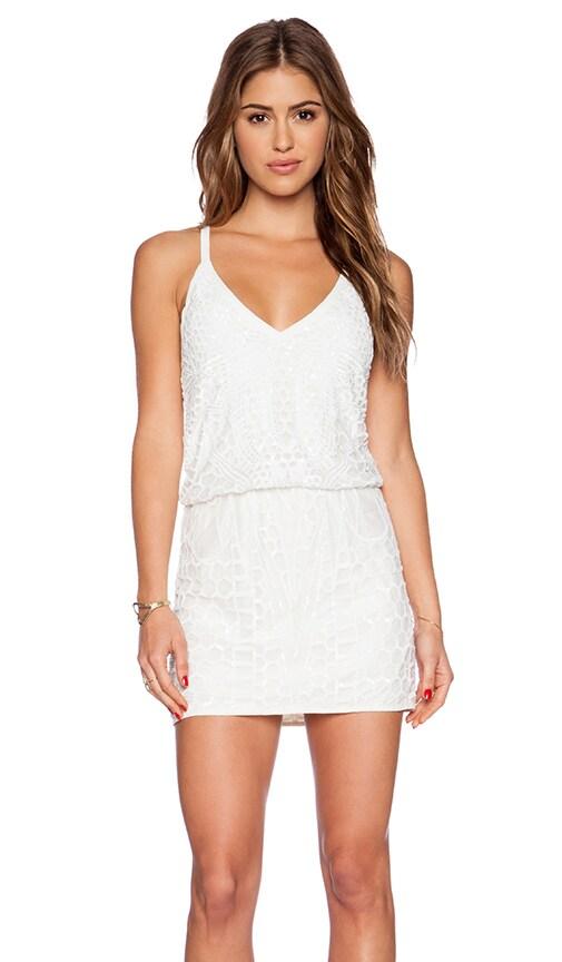 SAYLOR Jessica Dress in White