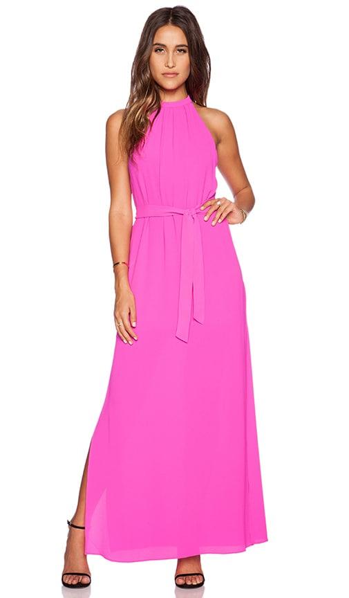 SAYLOR Robyn Maxi Dress in Magenta