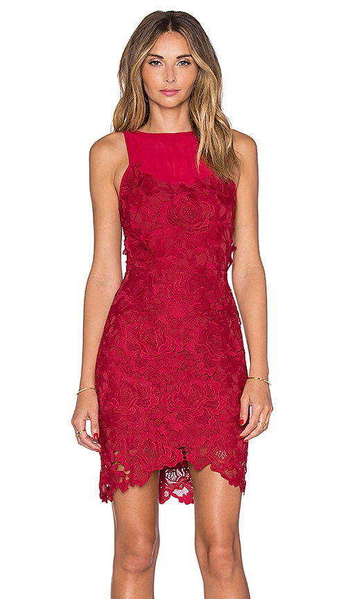 SAYLOR Crista Dress in Red