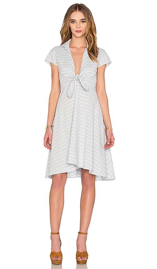 SAYLOR Whitley Dress in Baby Blue