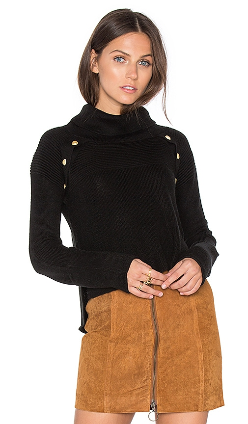 SAYLOR Jasper Sweater in Black