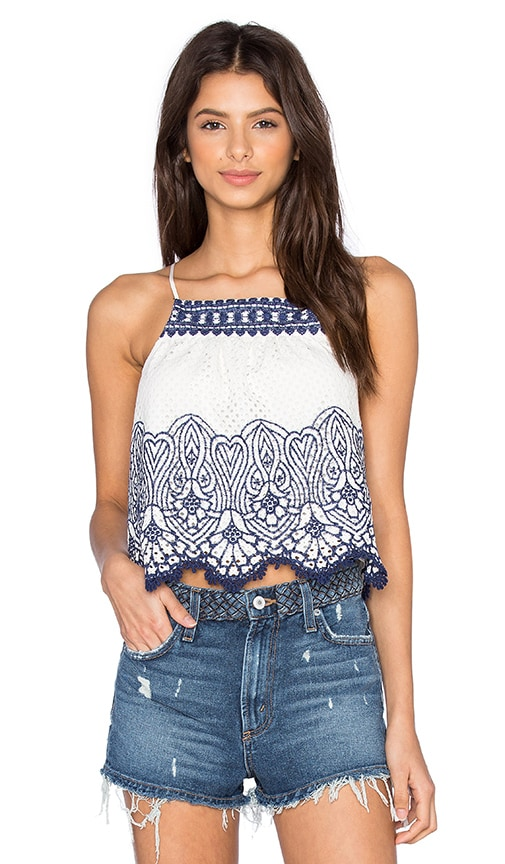 SAYLOR Sammie Top in White