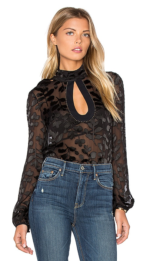 SAYLOR Anastasia Blouse in Black