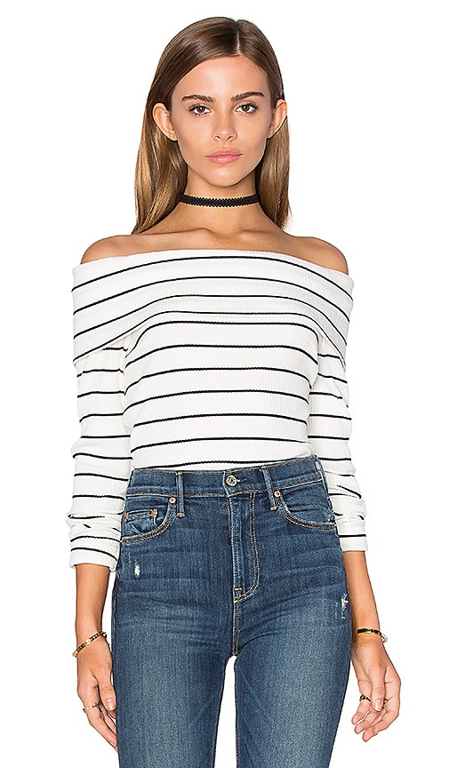 SAYLOR Mikaela Top in White