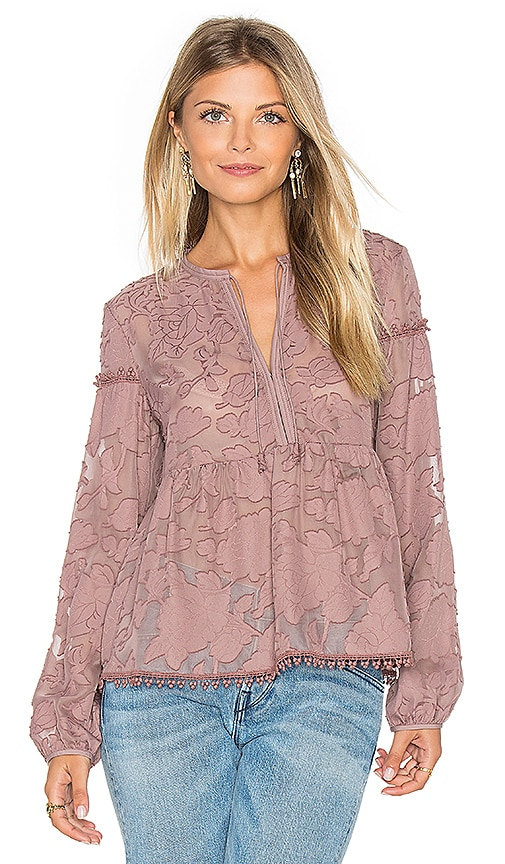 SAYLOR Magnolia Blouse in Rose