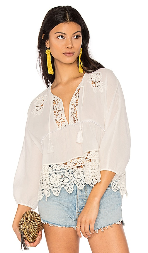 SAYLOR Aila Top in White