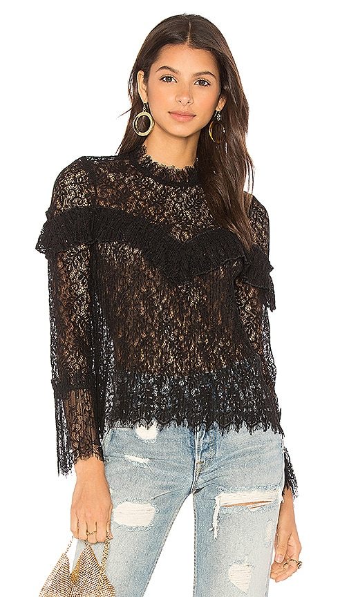 SAYLOR Mariella Blouse in Black