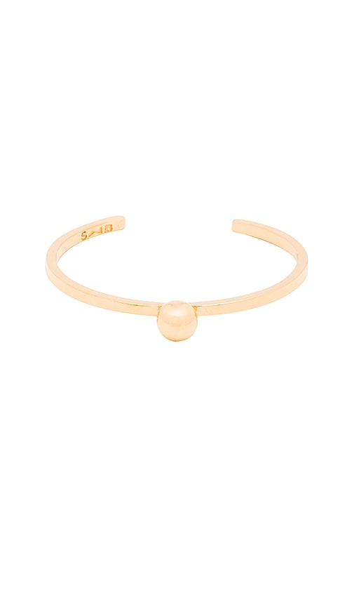 Stella and Bow Roosevelt Bracelet in Gold